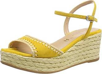 39 Yellow Para Unisa Punta Kisses ks Cerrada Sandalias Mujer Amarillo Eu wxU6PzxqC