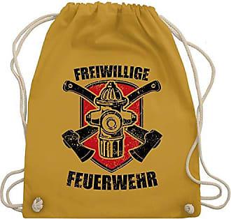Shirtracer Turnbeutel Bag Wm110 Gym Senfgelb Freiwillige Unisize Feuerwehr amp; O6qwFapU