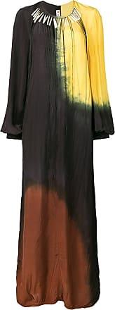 Longue Robe Imprimé À Dye Tie Marni Noir 1Rw4dxn5