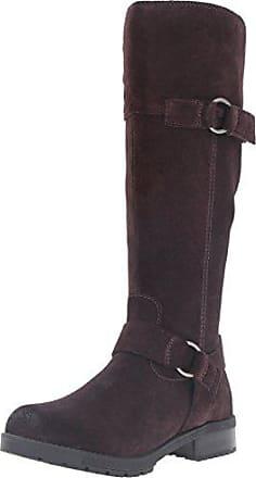 Dawn Clarks 11 W Us Suede Boot Womens Brown Riding Dark Faralyn aOExfwOqA