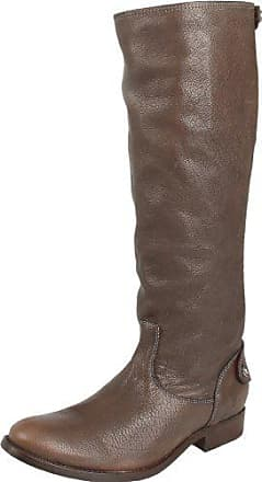 Button high Frye Full M Us Boot Back Zip Grain 6 Grey Melissa Antique 5 Womens Soft Knee WYUPTUEn