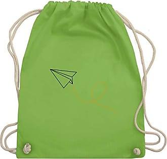 Papierflieger Wm110 Symbole Gym Turnbeutel Shirtracer Bag Hellgrün Unisize amp; vR6xxqZ