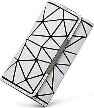 white Chaos Lange Weibliche onesize Brieftasche Kupplung position card Multi Unregelmäßige Einfache Greifen Brieftasche Luminous Hand Dreieck Matte Japanisch Die Chengxiaoxuan UqwxAZEA