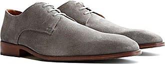 44 Schuhe Anzugschuhe Travelin' Hochzeitschuhe Heathrow Schnürhalbschuhe Grau Business Eu HerrenLederschuhe Wildleder Derby Suede UMpGzSVq