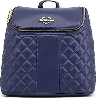Rucksack Nappa Love Blu Taschen Pu Moschino Borsa Quilted Damen Jc4017pp16lc0750 fgyb76