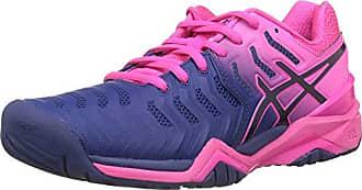 Eu Print Bleu Femme Gel 37 Blue Tennis 7 400 Chaussures De 5 Asics resolution fqRnSZ11O