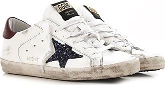 2017 Blanc 38 Cuir 36 Goose 40 35 Golden Femme Sneaker wSq7ZZXR