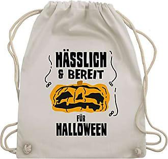 amp; Wm110 Unisize Shirtracer Turnbeutel Hässlich Naturweiß Für Bag Bereit Halloween Und Gym 4wX07XzHq