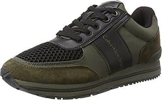 Estez nylon black43 Eu smooth Calvin Klein Suede Sneaker UomoMulticolorecargo 29IYWDEHeb