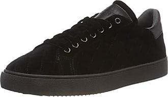Eu 001 Lu Esprit black Sneakers Femme Basses Cherry 37 Noir 54qzWq0fw