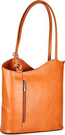 28x28x8 Ital Cognac X Handtasche In Rucksack H b Feinstem Damen Leder Cm T Aus Belli Backpack vRzwdxdf