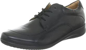 37 De Cuero F Ganter Con Cordones Negro Zapatos 5 Weite Fiona Mujer 7F71qYv