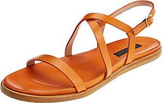 Ouvert Orange 37 Carrot Neosens Eu Femme Skin Restored Bout S946 Sandales aurora Awwn160qS