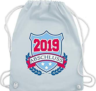 Badge Shirtracer Gym Unisize Pastell Turnbeutel 2019 Blau Abi amp; Abschluss Bag Wm110 7rCrIq