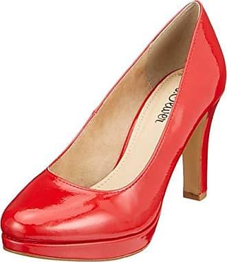 De Zapatos 22410 Para 523 5 5 Rojo Patent Tacón 38 Mujer 22 S oliver Eu chili fTAXnY