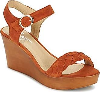 sandaletten Orange Gimi London Damen Sandalen 36 Betty Bf7tqwf