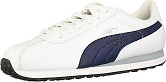 Blanco Puma Adulto White Unisex Turin Zapatillas Eu 46 wxv1qzS