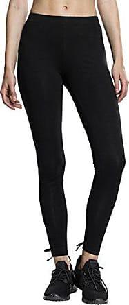 Mujer classics Negro nero Back Laces 7 Leggings Urban S Ladies X7pwqUxBq