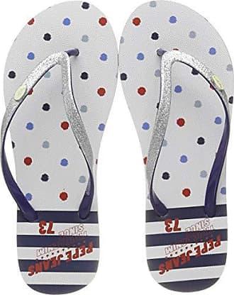 Pepe Para 36 silver Eu Rake Kemy Silber London 934 Chanclas Mujer Jeans rSqX4r