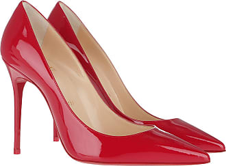 R251 Christian 554 Rot Louboutin 100 Decollete Pumps wzXfzqC