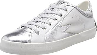 25302ks1 Eu weiß Basses 41 Crime London Blanc Sneakers Femme 85nUwqP