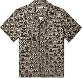 Camp Printed Tencel Saturdays Surf Nyc collar ShirtBlack SUzMVLqpG