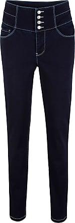 Hohem BundVerkürzt In Blau Bonprix jeans Shaping Von stretch Mit John Baner Jeanswear eWrxCBod