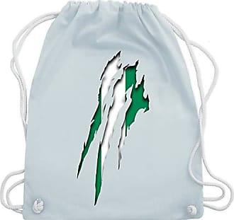 Gym amp; Turnbeutel 2020 Bag Shirtracer Fußball Blau Wm110 Unisize europameisterschaft Nigeria Krallenspuren Pastell avPWRvzOc