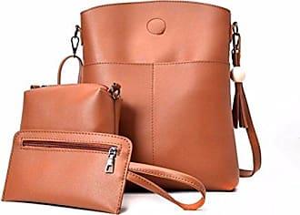 Schultertasche Handtaschen Messenger Großer gelb Hunpta Frauen Drei Mobile Tasche Kapazitäts Sets BwqYUzqa