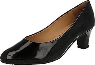 Patent 110 41 Noir Fermé black Escarpins Dal 2402 Femme Bout Van 46HZwqR