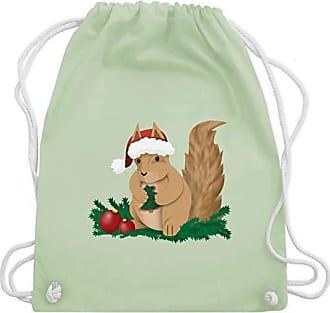 Weihnachten KindEichhörnchen Grün Turnbeutelamp; Unisize Gym Wm110 Bag Shirtracer Pastell pLSUVjGzMq