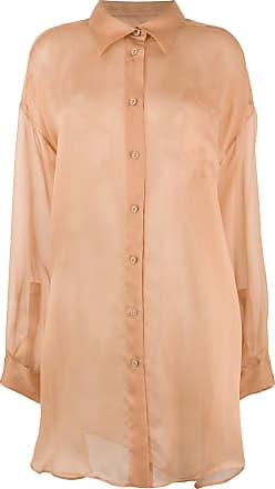 Button Tons Sheer Margiela Neutres Shirt Maison ApESqw