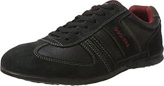 34sa801 201120 Zapatillas Negro schwarz 40 Gerli Dockers Hombre By Para grau Eu CEwqFHtF