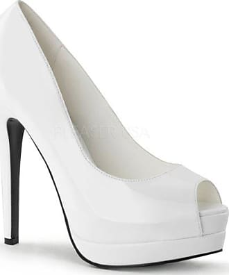 Lack Plateau Higher pumps Gr39 Bordello Weiß Bella heels 12 iOkZuXP