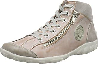 Remonte 31 Hautes Rose steel Sneakers 44 R3474 grey rosa Eu Femme In8FnxrU