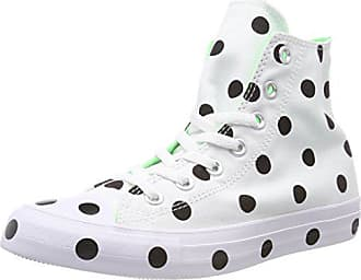 Hi Converse Multicolore 102 black white Ctas illusion Eu 41 Green Baskets Hautes Femme 5 q5xwrB5aX