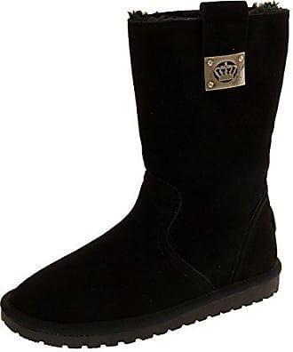 Footwear Damen Keddo 36 Studio Faux Eu Wildleder Winterstiefel Schwarz rqprFPwEx