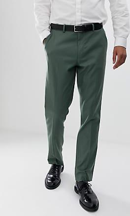 En Slim Asos De Verde Design Salvia Traje Corte Pantalones XwI1qaIz