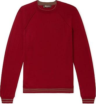 Loro Virgin Wish SweaterRed Striped Piana Wool Super lF1KcJ