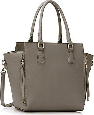 Verkaufend Stunning Tragetaschen Cws00314 grau Schnell Handtasche Mode Leahward Qualität Damen Essener Reißverschluss wSgXnO8q
