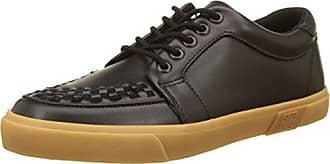 Leather 41 T Sneaker Black u gum Vlk Caño Bajo Leather black Creeper Negro Botas Unisex Adulto k Eu De noir BT1wBxnqF