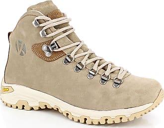 De Cuir Chaussures Kimberfeel Sellena Beiges En Trek Velours g51wX