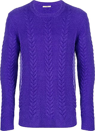 Torsadé Violet Tricot En Pull Nuur Xwt6RR