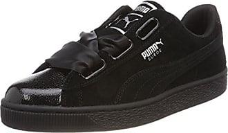Suede Eu Femme Heart Black Wns Bubble Basses Sneakers Puma 41 Noir dxHFqA4wd