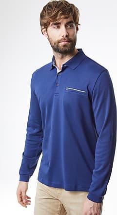 Longsleeve Regular Blau Poloshirt Blau Basic Fit Pierre Cardin zEqUwxI