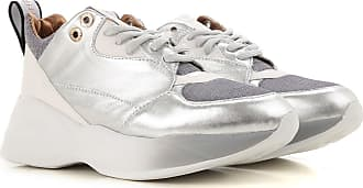 Leather Silver Smith 37 36 Women 39 Sneakers 2017 Alexander For fdaPRnqq