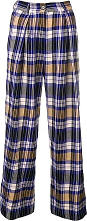Leg Forte Trousers Bleu forte Wide Pyjama style aWvfW1