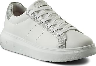 73695 Glitter Sneakers Bianco Skechers argento wsl Highway qgOx5nP1