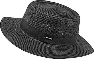 Mujer Para Talla Única Panamá nero Barts Negro Crispo Sombrero 0001 Hat Iwq1TPX