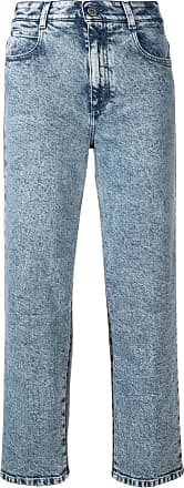 Cropped Jeans Mccartney rise Bleu High Stella 8UzqHx